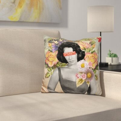 Liz Taylor Throw Pillow
