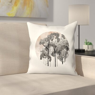 Crux Throw Pillow Size: 16 x 16