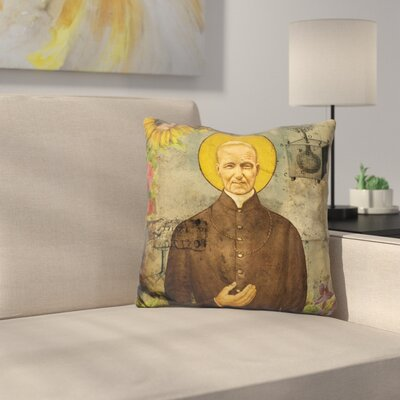 The Holy Father Throw Pillow