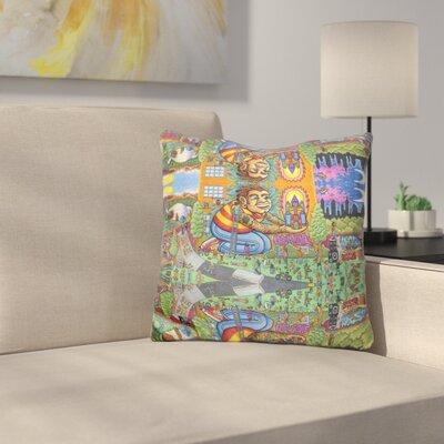 City Love Utopia Throw Pillow