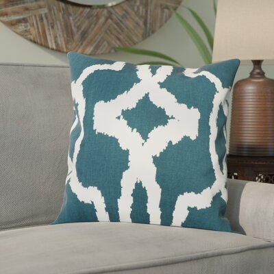 Bucktown 100% Cotton Pillow Cover Color: Blue