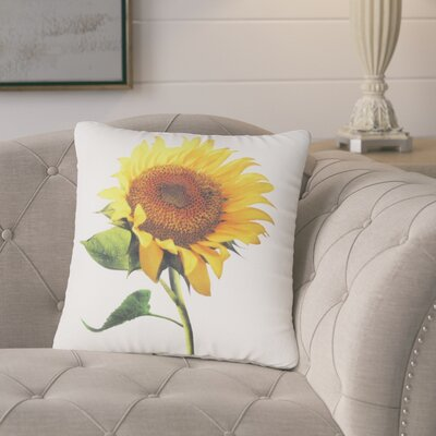 Bendel Sunflower Throw Pillow