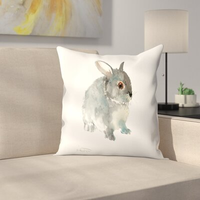 Bunny 8 Throw Pillow Size: 14 x 14