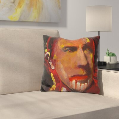 Bela Legosi Throw Pillow