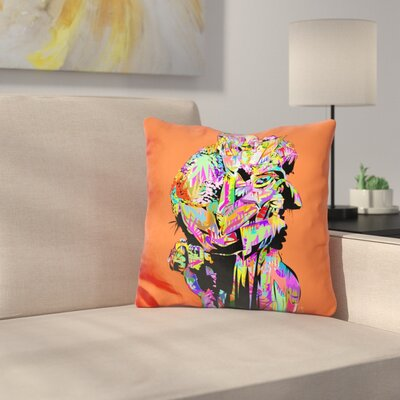 Captain The Kiss Throw Pillow