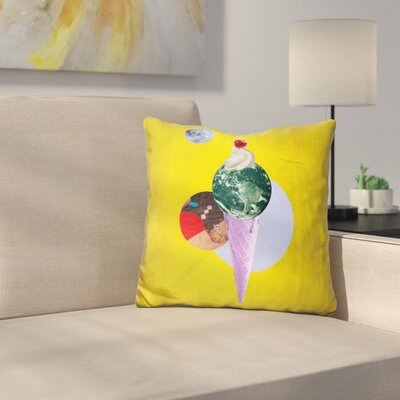 Earthcone Throw Pillow