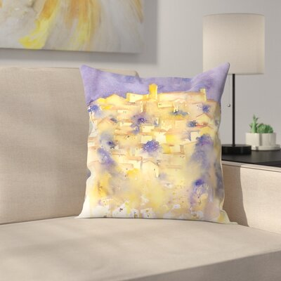 Splashy Tuscany Throw Pillow Size: 16 x 16