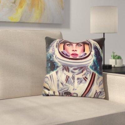 Le Cosmonaute Throw Pillow