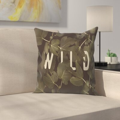 Florent Bodart Wild Main Throw Pillow Size: 18 x 18
