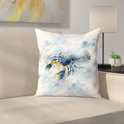 Lobster Throw Pillow Size: 14 x 14