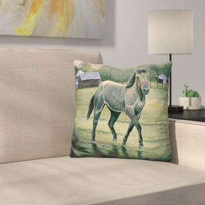 In The Pasture Throw Pillow