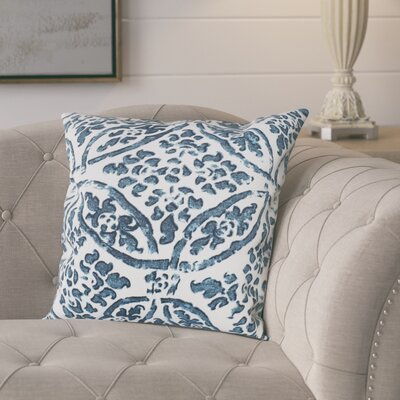 Numan 100% Cotton Pillow Cover Color: Blue