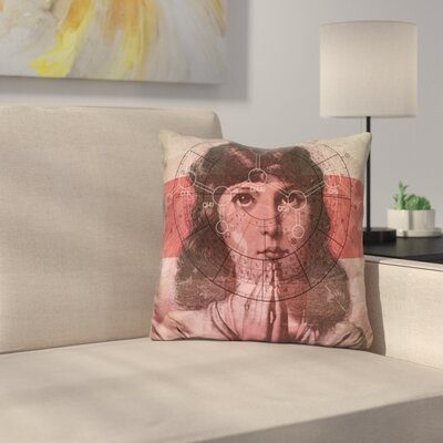 The Christian Girl Throw Pillow