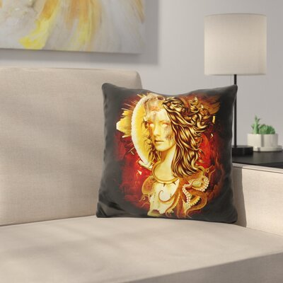 Mage Throw Pillow