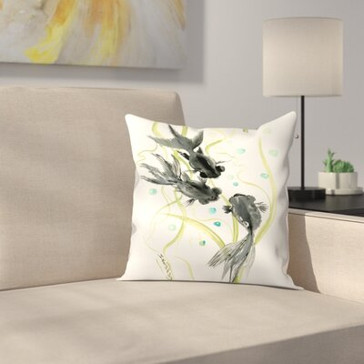 Black Moor Throw Pillow Size: 16 x 16