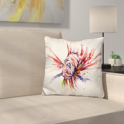 Pterois Throw Pillow