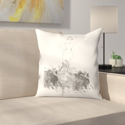 Couture Throw Pillow Size: 18