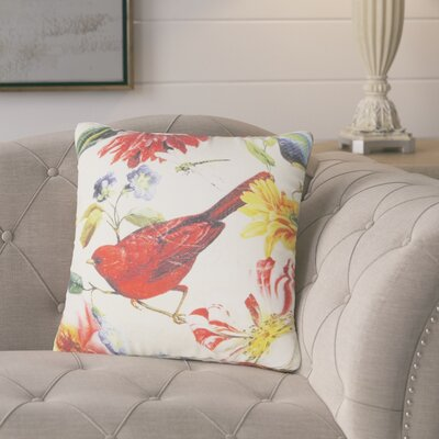 Bengtson Bird on Tree Throw Pillow