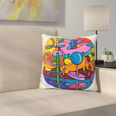 Mambo Circle Throw Pillow