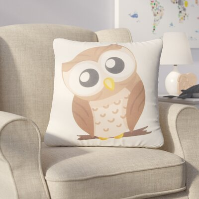 Hallock Cute Owl Throw Pillow