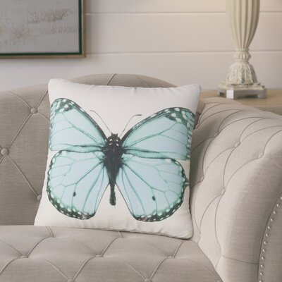 Benites Butterfly Throw Pillow