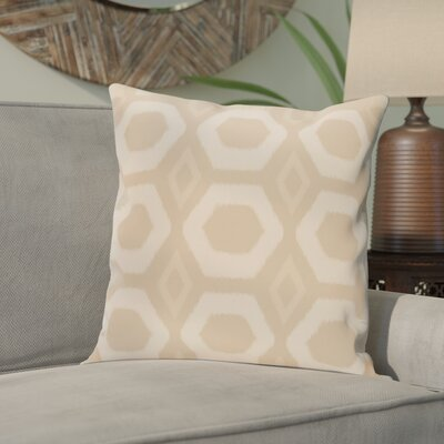 Anita Geometric Throw Pillow Size: 20 H x 20 W, Color: Taupe / Beige