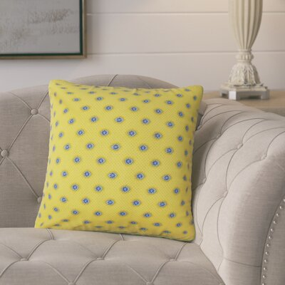 Maggi Graphic Cotton Throw Pillow