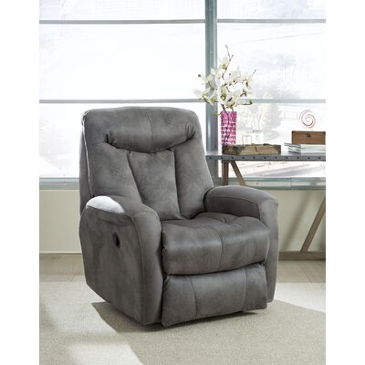 Clair Recliner Reclining Type: Manual, Motion Type: Wall Hugger