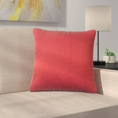 Shick Solid Down Filled Silk Throw Pillow Size: 18 x 18
