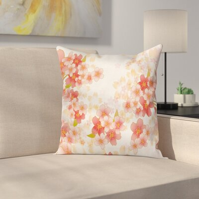 Japanese Pillow Cover Size: 18 x 18