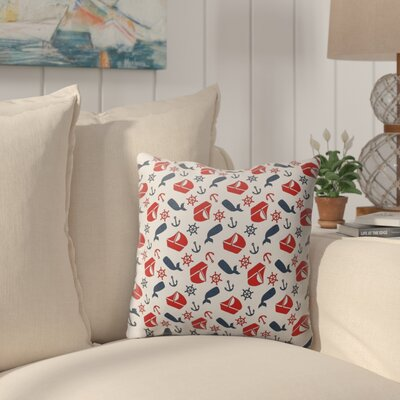 Melton Indoor/Outdoor Throw Pillow Size: 26 H x 26 W x 4 D
