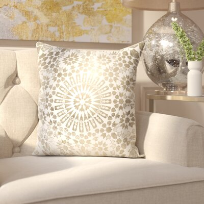 Pudsey Goldata Throw Pillow