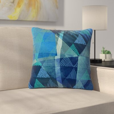 Pia Schneider Triangles Melange Outdoor Throw Pillow Size: 16 H x 16 W x 5 D