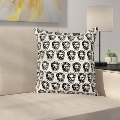 Heads Pillow Cover Size: 16 x 16