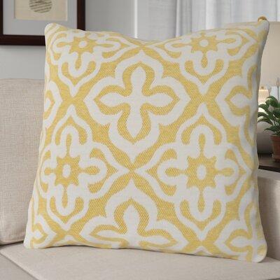 Silpa Throw Pillow Color: Yellow