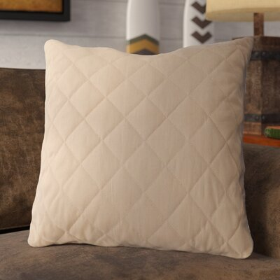 Krysta Quilted 100% Cotton Throw Pillow