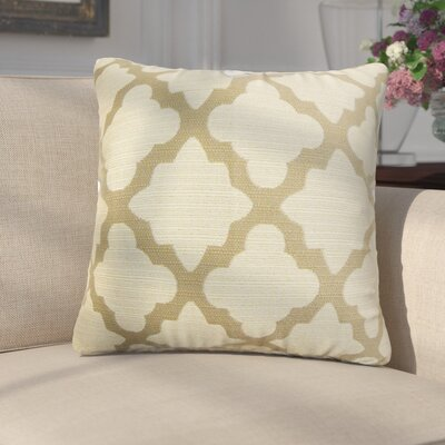 Margert Geometric Throw Pillow Color: Yellow