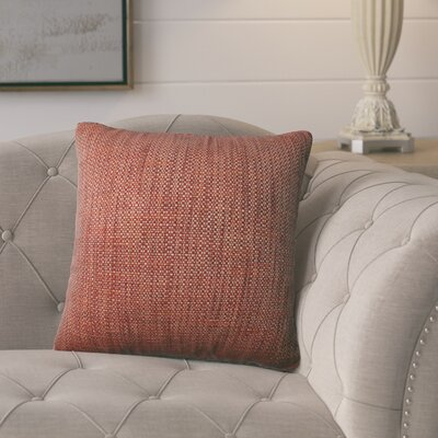 Schaumburg Throw Pillow Color: Sedona