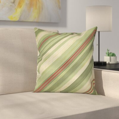 Diagonal Lines Pillow Cover Size: 24 x 24