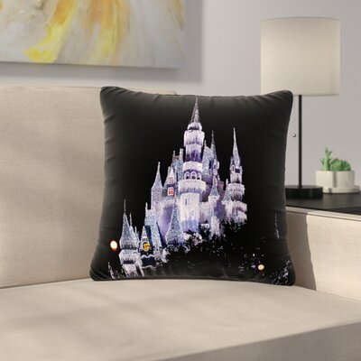 Philip Brown Frozen Castle Photography Outdoor Throw Pillow Size: 18 H x 18 W x 5 D