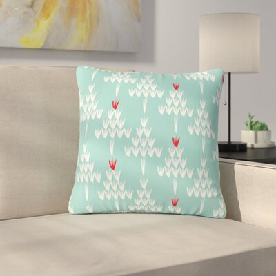 Zara Martina Mansen Christmas Holiday Pattern Outdoor Throw Pillow Size: 16 H x 16 W x 5 D