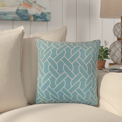 Qureshi Geometric Cotton Throw Pillow