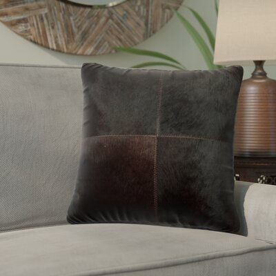 Graham Plain Throw Pillow Color: Black