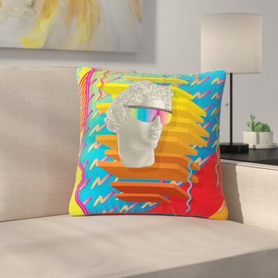 Roberlan Super Tacky System III Outdoor Throw Pillow Size: 16 H x 16 W x 5 D