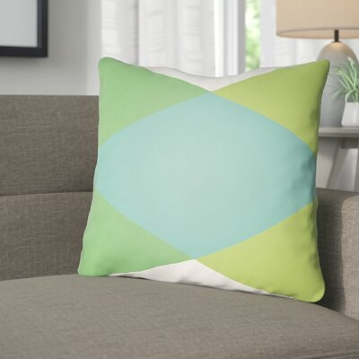 Wakefield Ii Throw Pillow Size: 22 H �x 22 W x 5 D, Color: Turquoise
