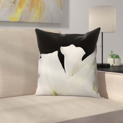 Maja Hrnjak Lily4 Throw Pillow Size: 18 x 18