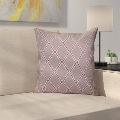 Decorative Holiday Geometric Print Throw Pillow Size: 20 H x 20 W, Color: Lavender