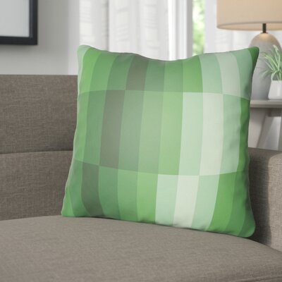 Wakefield Throw Pillow Size: 18 H x 18 W x 4 D, Color: Green