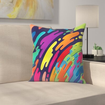 Joe Van Wetering Atmosphere Throw Pillow Size: 16 x 16