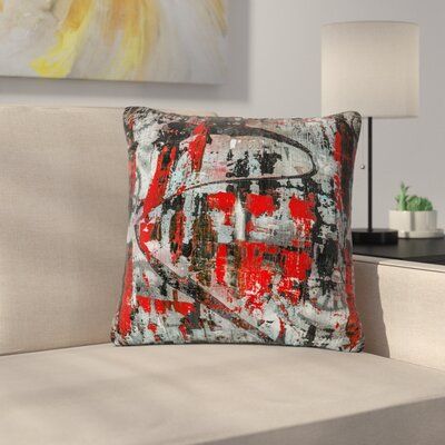 Bruce Stanfield Zinger Abstract Outdoor Throw Pillow Size: 18 H x 18 W x 5 D